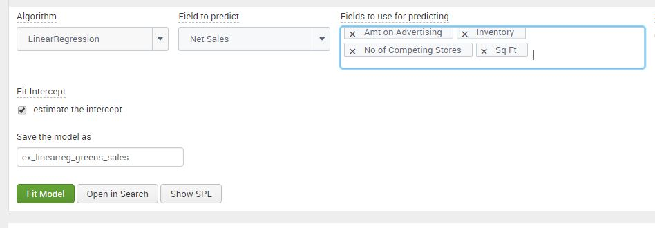 A Practical Example Using The Splunk Machine Learning